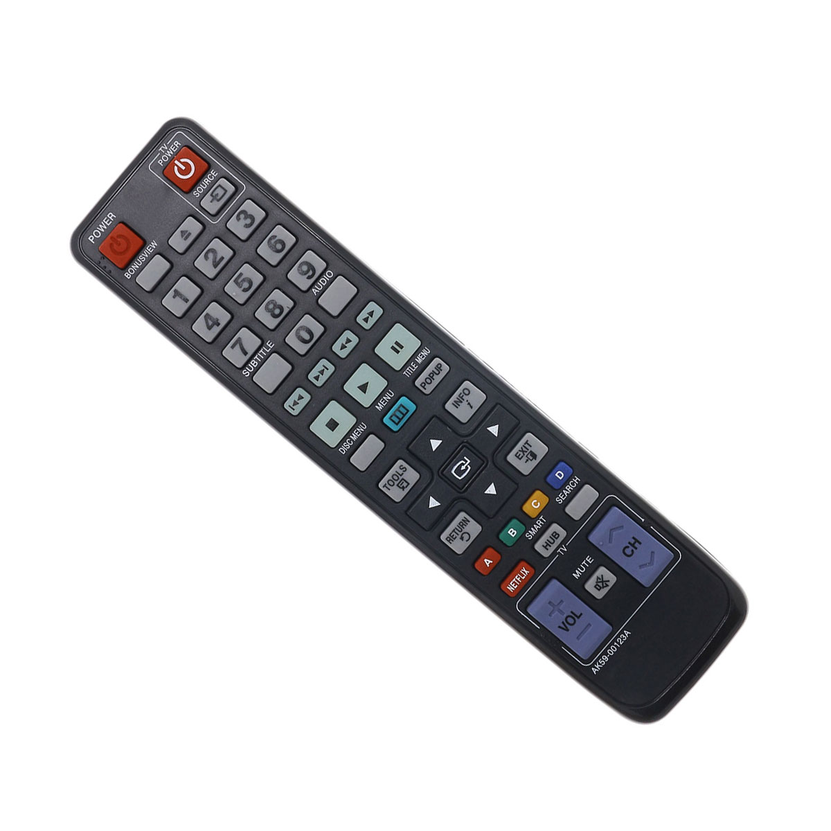 Replacement BluRay Remote Control For Samsung BDD6500/ZV