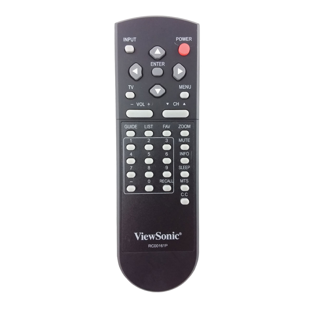 Original TV Remote Control for Viewsonic N1630W Television